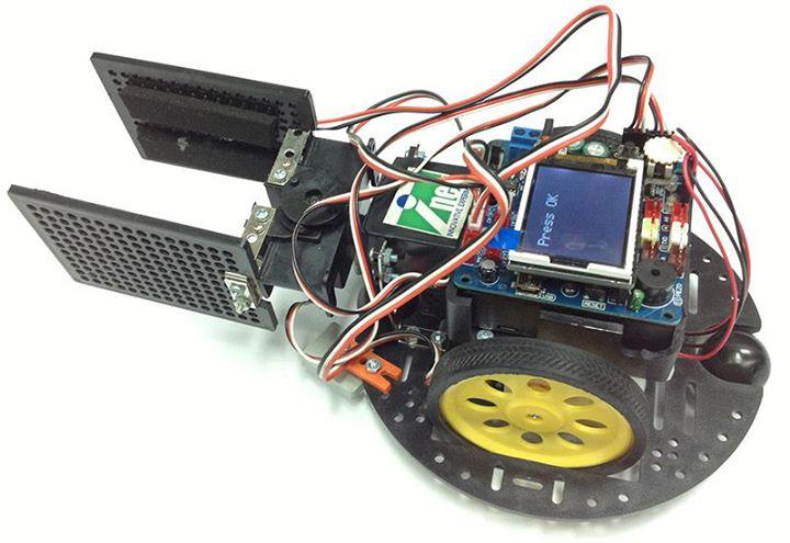 [POP-XT] ตัวอย่างโค้ดสำหรับชุดหุ่นยนต์ POP-BOT XT และชุดมือจับแบบหมุน
