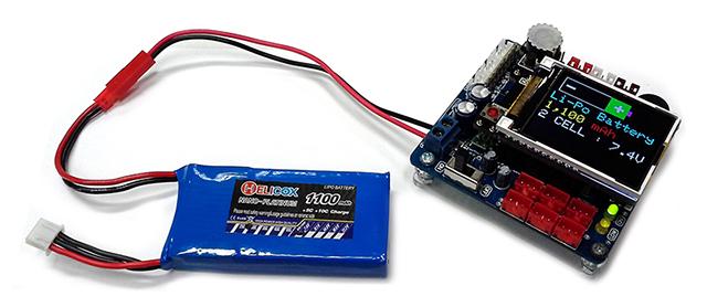 Batt Li-Po 1100mAh 7.4V With POPXT 640