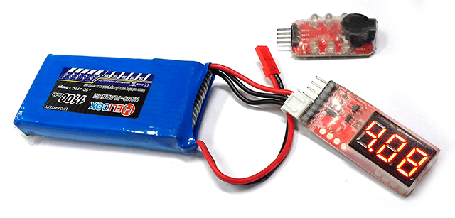 Li-Po Voltage Monitor640