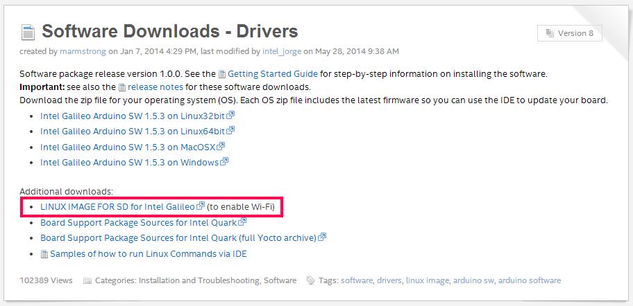 [Intel Galileo] การบูต Linux Image จากการ์ด SD