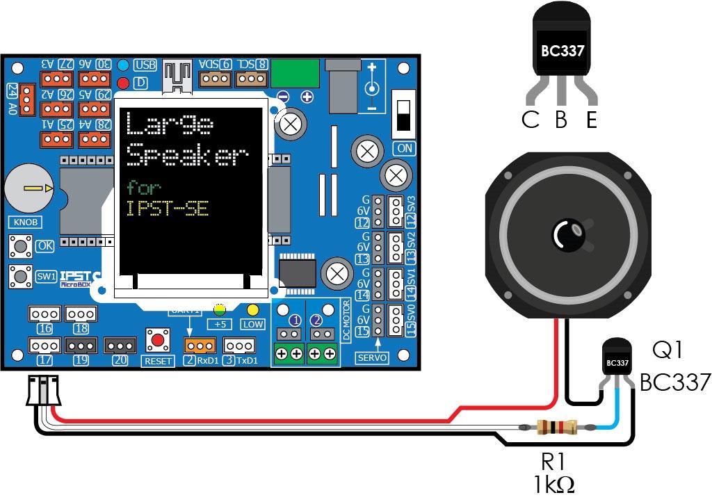 [IPST-SE] with Large Speaker