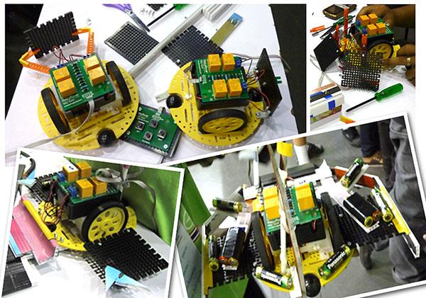 Relay Rover ในรูปแบบต่างๆ