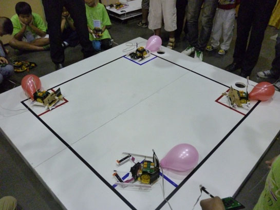 relay rover activity