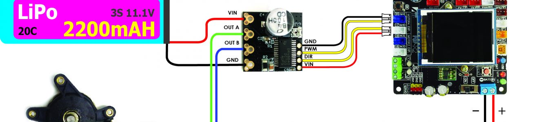 [POP-X2] && MD-000 บอร์ดขับมอเตอร์กระแสตรง EP.2 การเชื่อมต่อวงจร