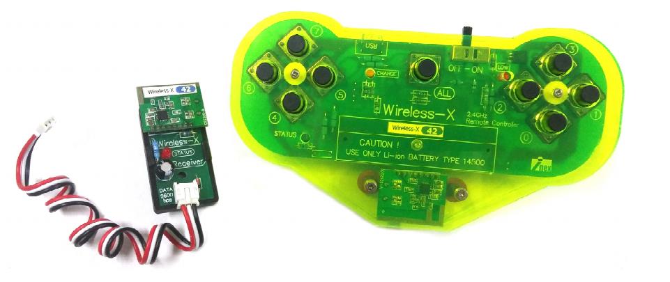 การใช้งาน Wireless-X Remote Controller ร่วมกับบอร์ด i-Duino UNO R3B