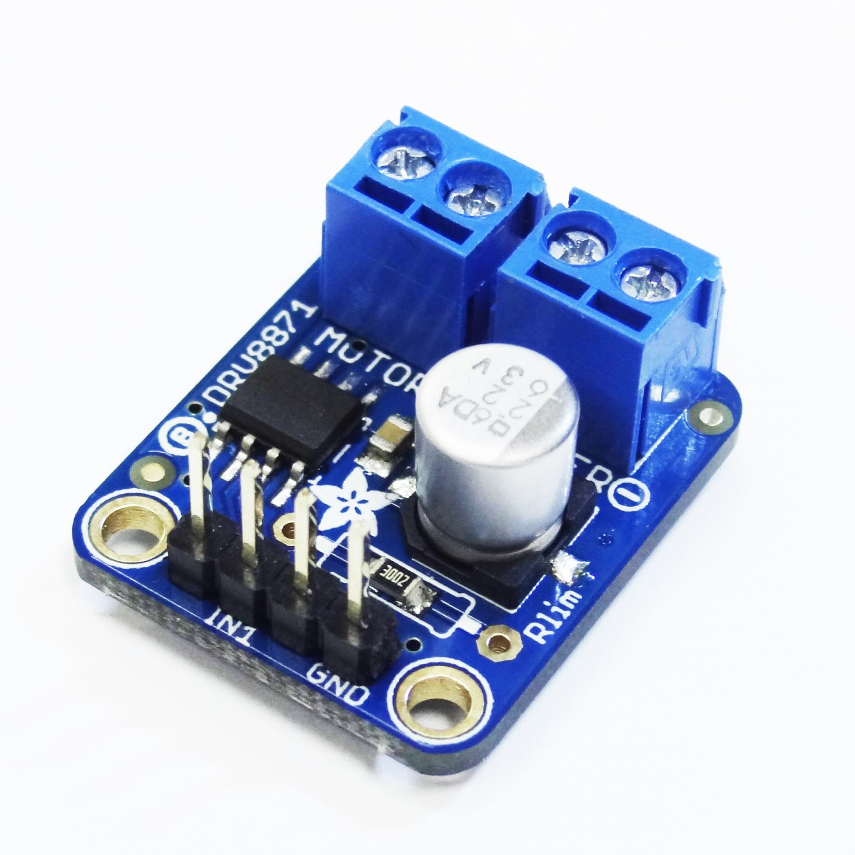 UNICON กับ บอร์ดขับมอเตอร์ไฟตรง DRV8871