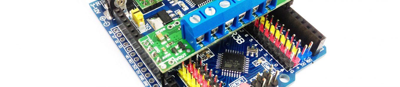 DRV8835 Dual Motor Driver Shield for Arduino