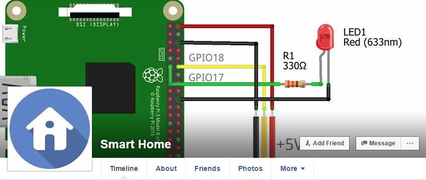 การแจ้งเตือนความเคลื่อนไหวผ่าน Facebook โดยใช้ RaspberryPi 3 และ PIR