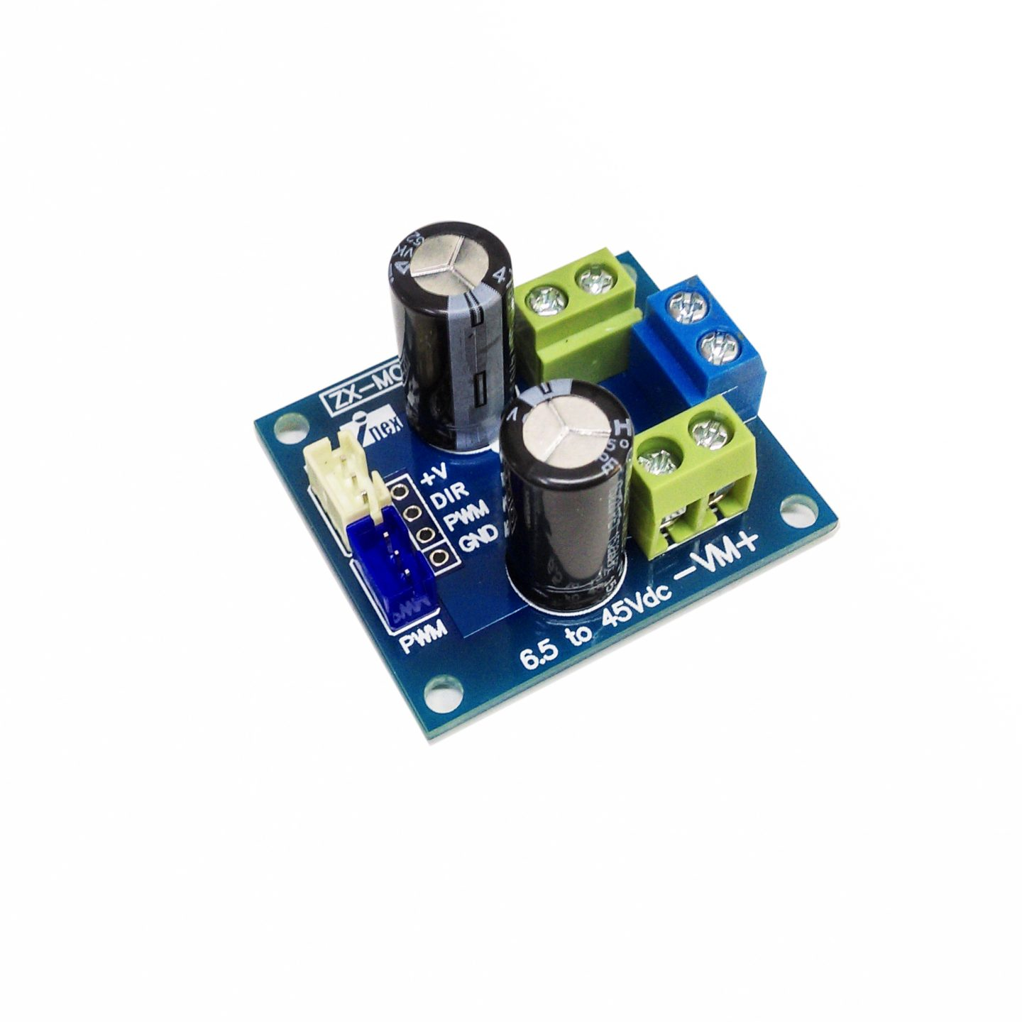 How to use ZX-MOTOR2A for control TAMIYA motor.