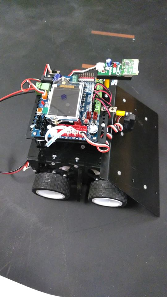 Sumo-BOT ATX2+ ระบบควบคุมมือ