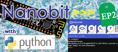 Nanobit with microPython ตอนที่ 2