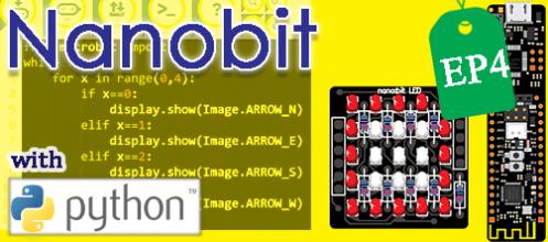 Nanobit with microPython ตอนที่ 4